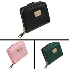 High quality Lady Women Purse Clutch Wallet Short Small Bag Card Holder