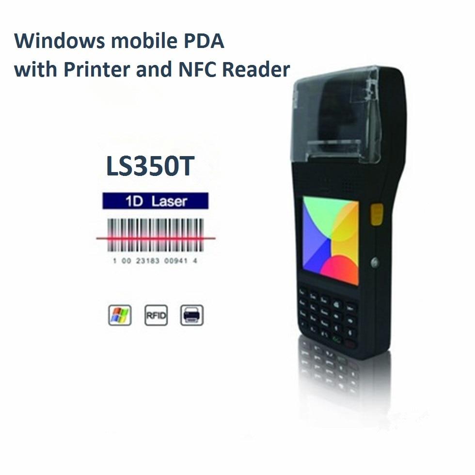 LS350T Industrial Handheld Windows PDA Thermal Printer with Printer Paper