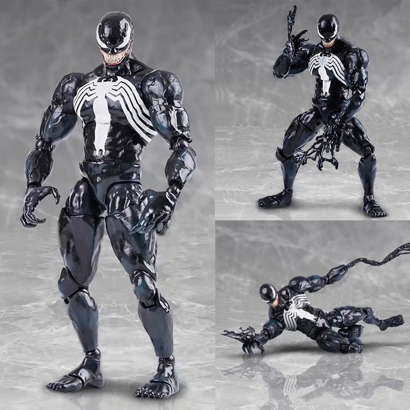 Новые горячие 26 см Мстители супер герой Человек Паук яд фигурку игрушечные лошадки Кукла Коллекция Рождественский подарок с коробкой