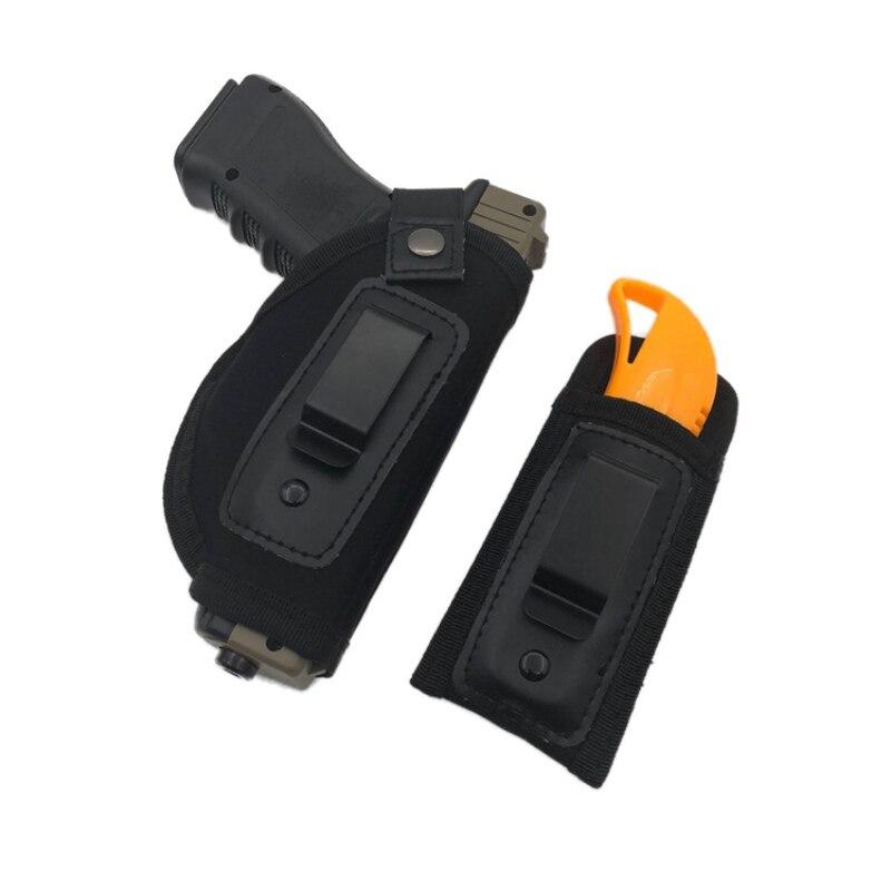 Waistband Handgun/Pistol Holster With Pouch Bundle | Gun ...