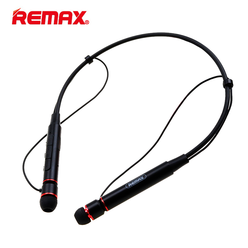 Remax RB-S6 Wireless Bluetooth Earphone Headphones with Microphone Sport Stereo Bluetooth Headset for iPhone Android Phone remax 2 in1 mini bluetooth 4 0 headphones usb car charger dock wireless car headset bluetooth earphone for iphone 7 6s android