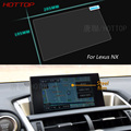 9 Inch GPS Navigation Screen Steel Protective Film For Lexus NX Control of LCD Screen Car Styling Sticker