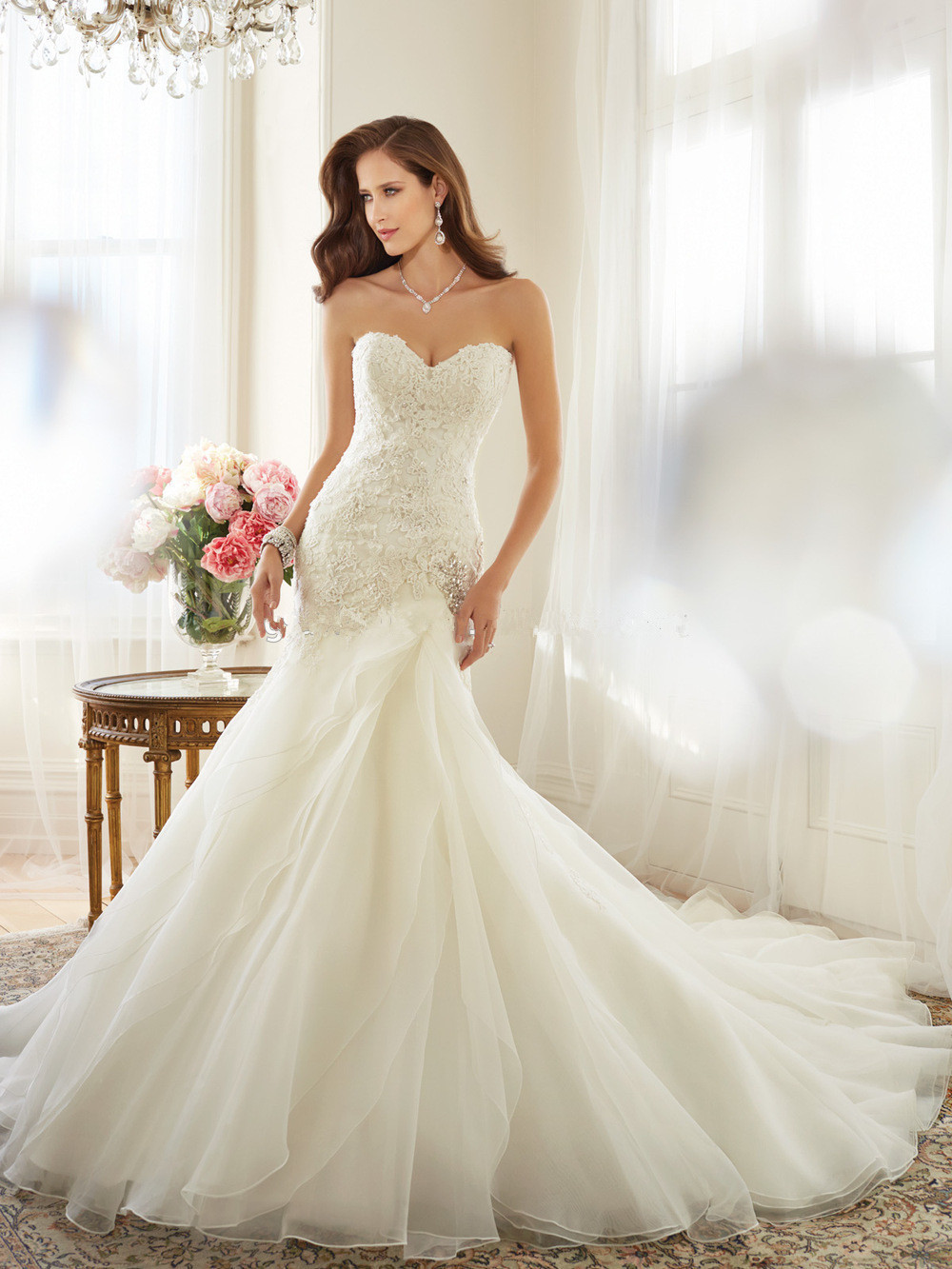 online get cheap embroidery turkey com alibaba group 2016 fashionable lace up appliqued sweetheart ivory mermaid wedding gowns imported weding dress turkey