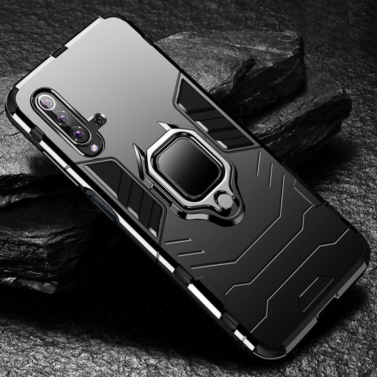 Luxury Armor Shockproof Case For Huawei Honor 20 Phone Case Back Cover For Huawei honor 20 pro Silicone Holder Case honor 20 image