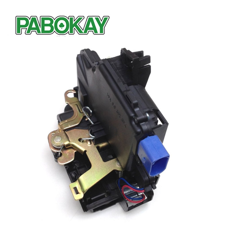 Image 1 - FRONT RIGHT Door Lock Mechanism 3B1837016BC 3B1837016CC 3B1837016BN 3B1837016AN 3B1837016S FOR VW T5 POLO SKODA FABIA ROOMSTER-in Locks & Hardware from Automobiles & Motorcycles