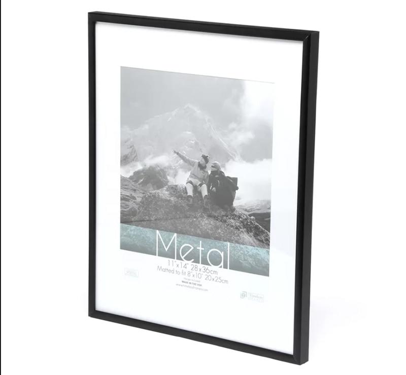 VCC marco pared arte decorativo, negro Deluxe aluminio A4 A3 cartel ...