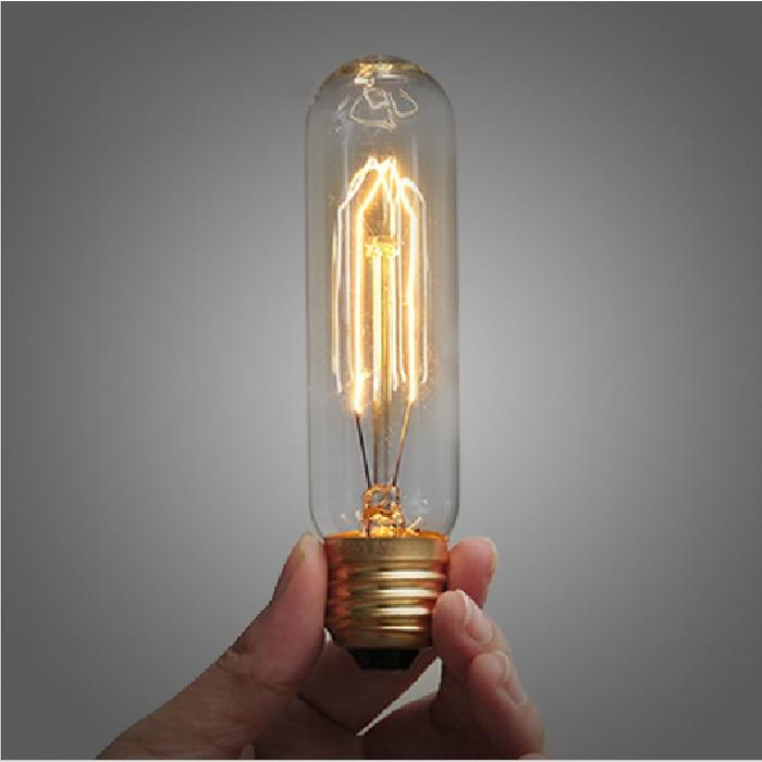 Lightinbox Vintage Antique Retro Industrial Style Edison Test Tube Incandescent Bulb E27 Decoration Filament Light Bulb