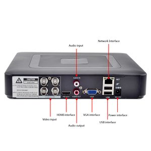 Image 2 - GADINAN 4CH AHD DVR Security CCTV System with 2PCS 2MP 1080P Optional CCTV Camera Waterproof Camera Video Surveillance Kit