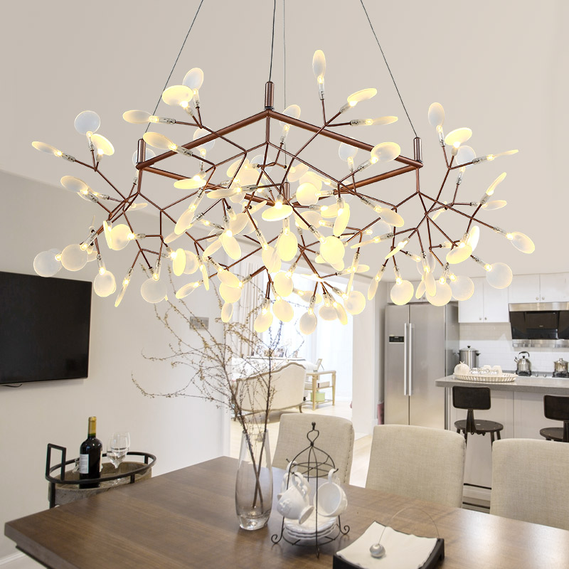 Post modern kung firefly branch led pendant light 120cm x 85cm post modern kung firefly branch led pendant light 120cm x 85cm shape led lamp acrylic bat black gold creative tree hanging lamp in pendant lights from mozeypictures Gallery