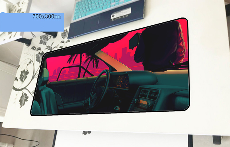 Hotline Miami pad mouse Professional computer gamer mouse pad 70x30cm padmouse Indie Pop mousepad ergonomic office