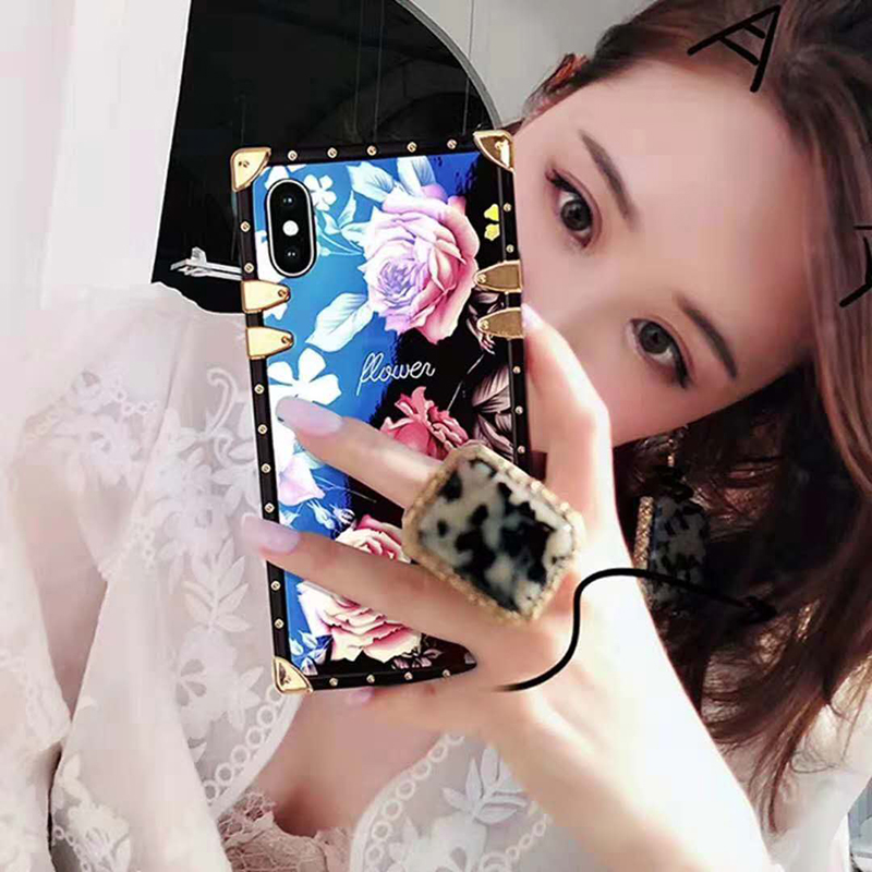 for iphone xs max Blu-ray square All-inclusive Anti-fall Shell