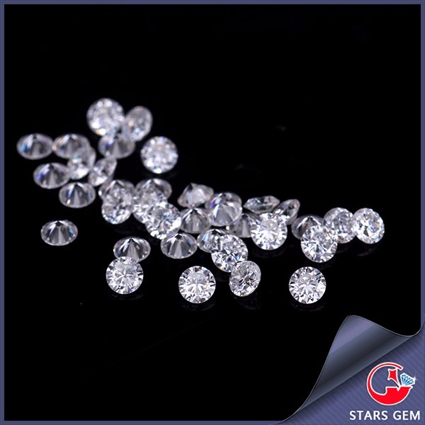 GH near white color 1.0ct/pack Test positive 1.4mm round shape moissanites loose gemstone for jewelry making retail price