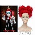 ECVTOP The Red Queen Costume Wig Cartoon Cosplay Wig Alice Through the Looking Glass, Alice in Wonderland 2 costume wig