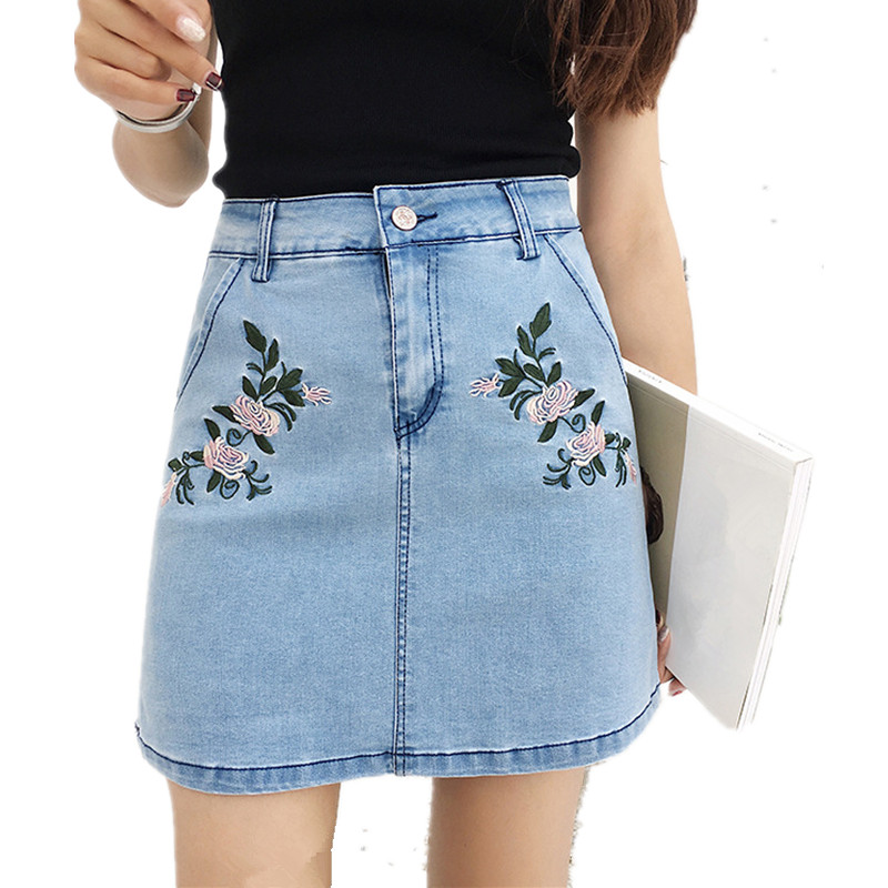 Online Get Cheap Blue Jean Skirts for Girls -Aliexpress.com ...