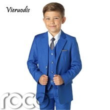 Boys Blue Suit, Slim Fit Suits, Boys Wedding Suit, Blue Suits, Page Boy Outfit boys blue suits boys suits page boy prom wedding party outfit 3 piece