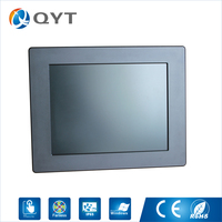 Factory Direct Wholesale Industrial Computer 2 RJ45 Touch Screen Panel Pc All In One With 64G