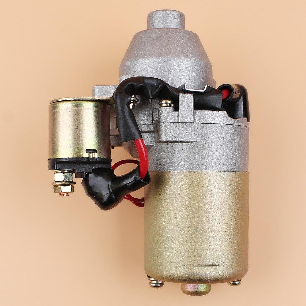 168F Engine 31210 5 Compressor 5HP Motor Small Amp GX200   ZE1 6 GX Solenoid 160 For HONDA 5Hp GX160 200 Generator Starter 023