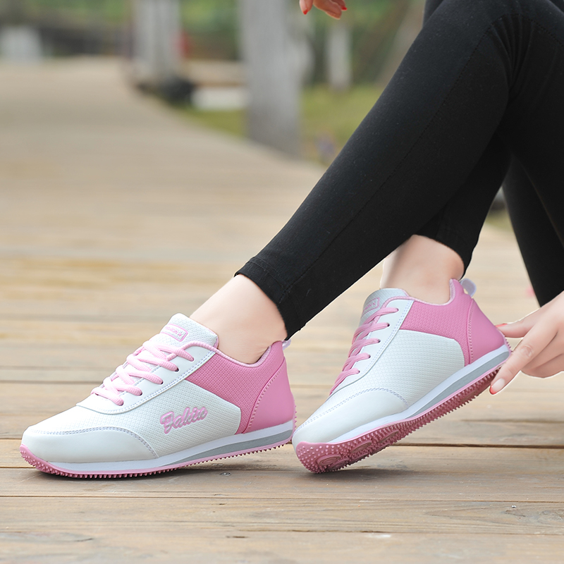 Golf Shoe Ladies Sports Wind Leather Waterproof Non Slip Nails Women Shoes Net Flat Wild Sneakers Shoes Woman Breathable FitnessGolf Shoe Ladies Sports Wind Leather Waterproof Non Slip Nails Women Shoes Net Flat Wild Sneakers Shoes Woman Breathable Fitness