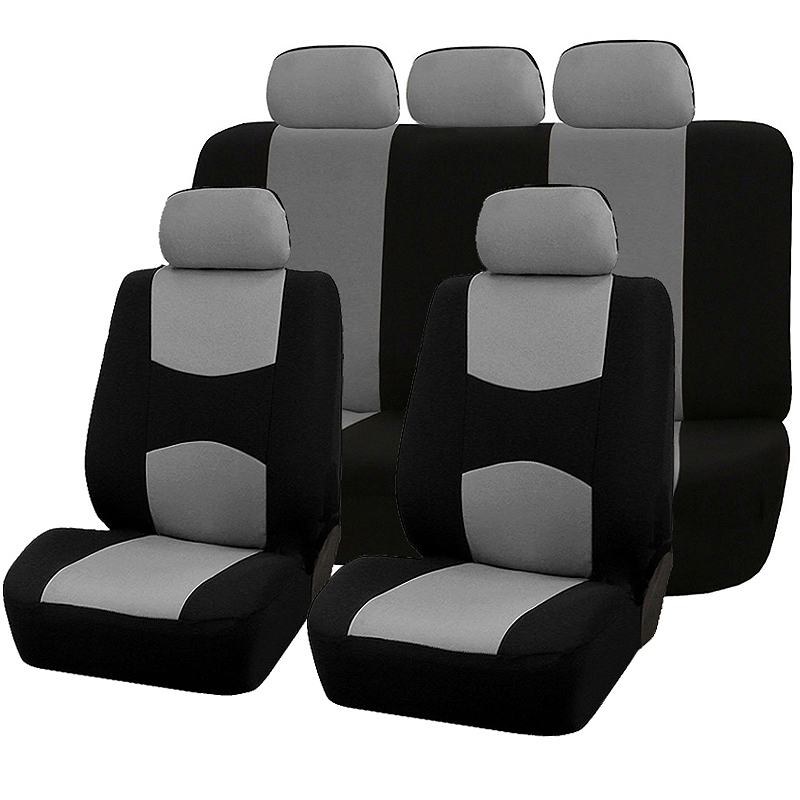Car Seat Cover Full Set Automobile Seat Protection Cover Vehicle Seat Covers Universal Interior Accessories Car