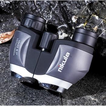 NIKULA 10x22 Pocket Mini Monocular Binoculars HD Powerful BAK4 Prism Waterproof Telescope 1000m Long Range Hunting Optical Scope 2