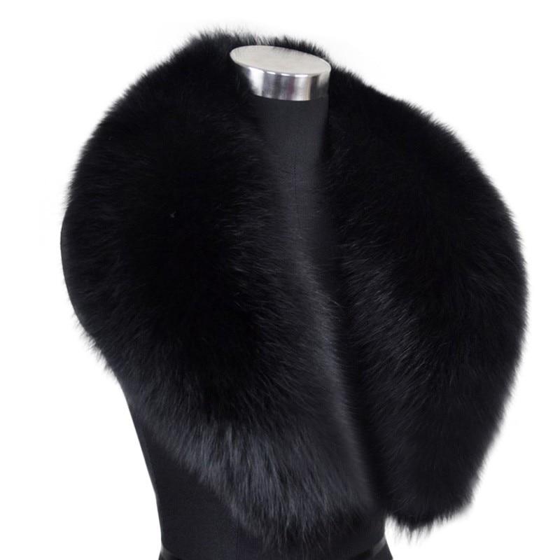Fashion Genuine Fox Fur Collar Raccoon Fur Muffler Real Fur s