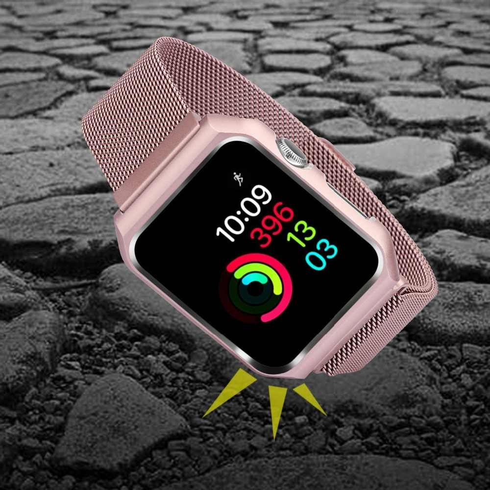 Detail Feedback Questions About Milanese Loop Strapcase For Apple