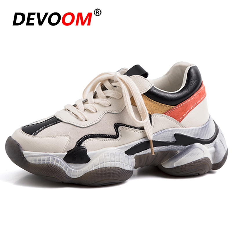 Sport Shoes Woman Basket Femme Sneakers Women Lace Up Beginner Rubber Fashion Running Shoes For Woman