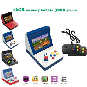 Mini Arcade Game Retro Machines for Kids with 3000 Classic Video Games Home Travel Portable Gaming System Childrens Tiny Toys