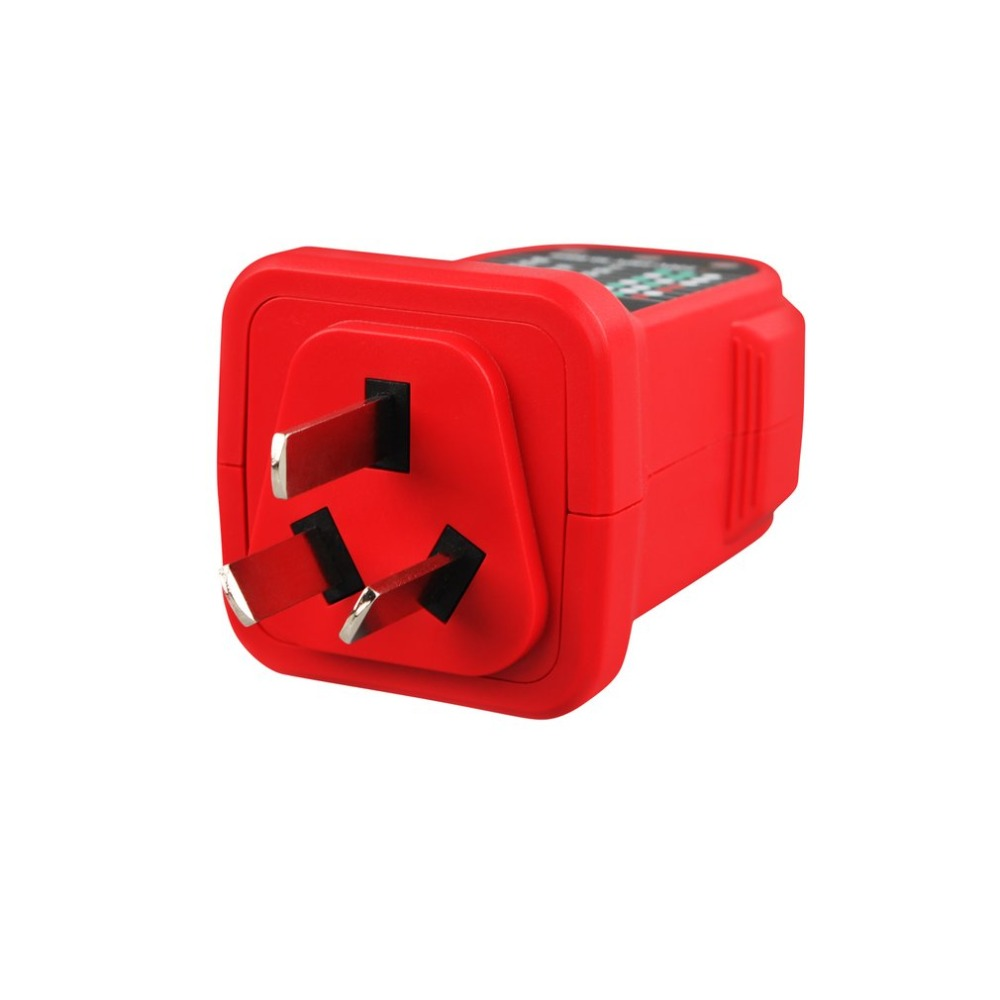Tasi Ta10a Socket Tester Automatic Electric Portable Voltage Circuit Breaker Finder Gfci Outlet Ncv Detector Finders For Ensure Safety Line In Resistance Meters From Tools On