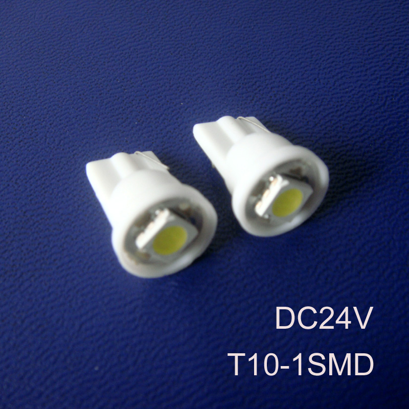 High quality 24V T10 led car bulb T10 194 168 W5W led lamp Truck 24v led Signal light led Pilot lamp free shipping 10pcs/lot