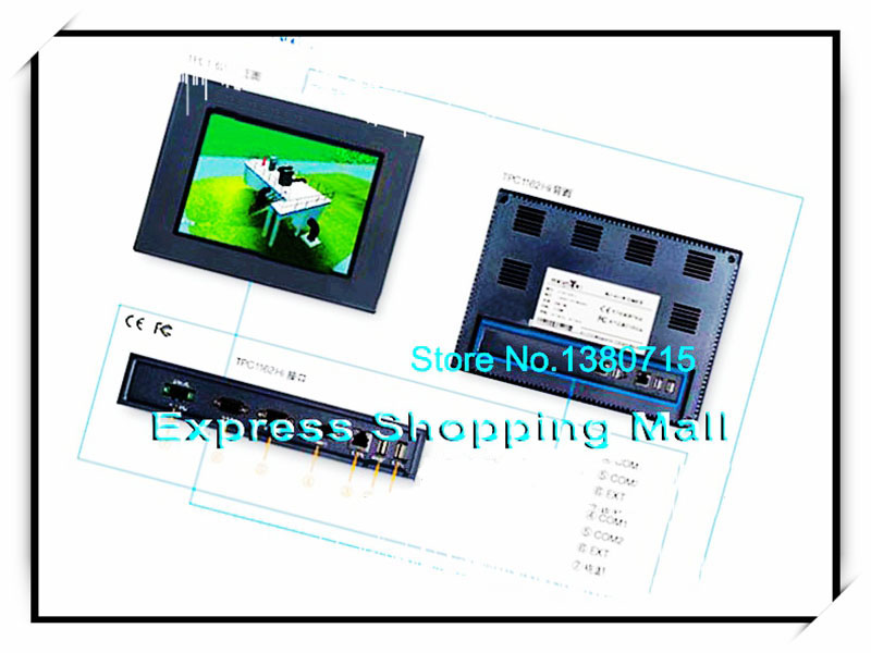 New TPC1162Hi 10.4 inch Ethernet 2 com Touch Screen HMI programming cable delta touch screen hmi dop bo3e211 480x272 4 3 inch ethernet 2 com new original with programming cable