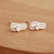 9d8a16a45c4a 925 Silver Personality Flip Flops Prevent Allergy Earrings Funny Women s  Fashion Creative Simple Jewelry Birthday Gift