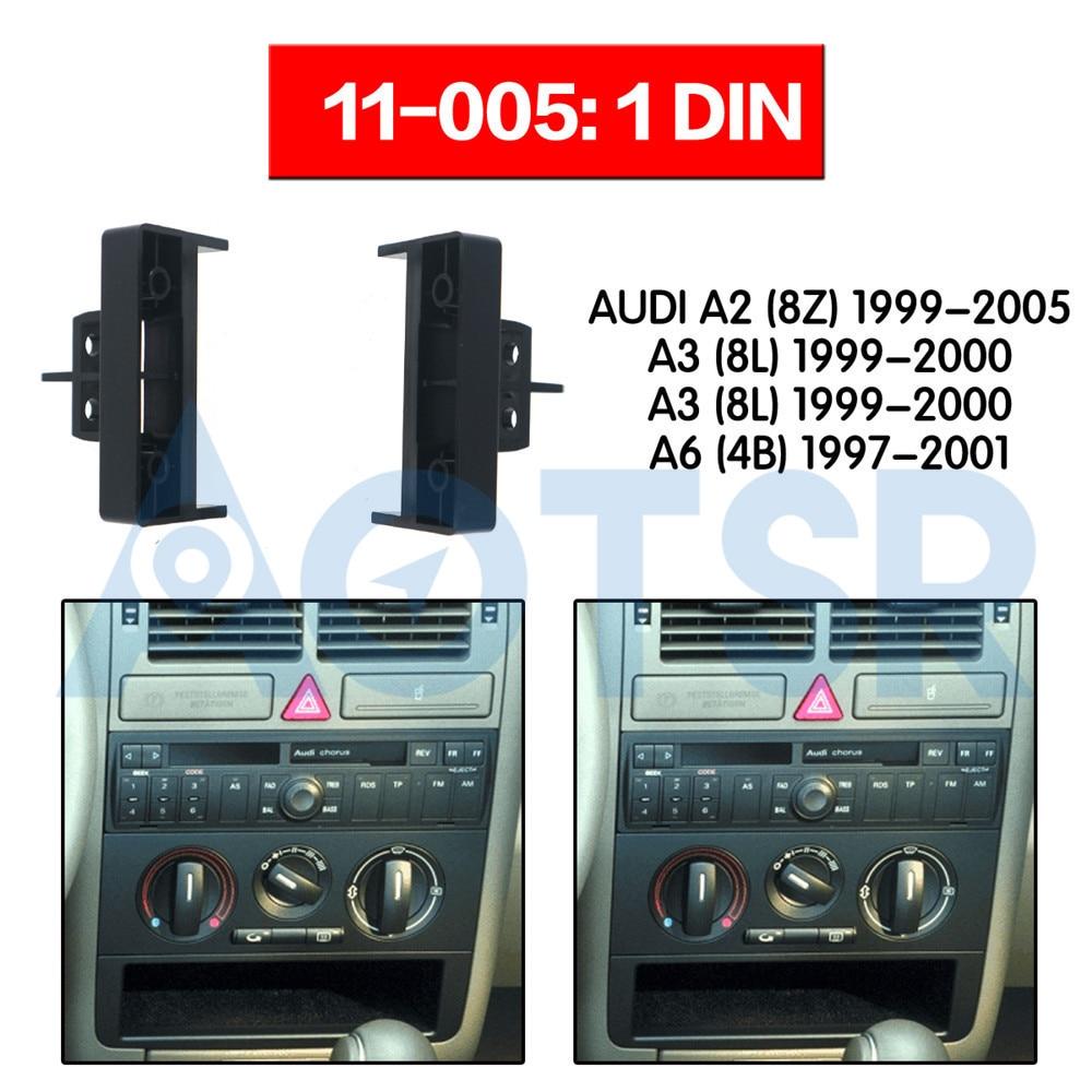 Simple Din Stéréo Fascia Volant Adaptateur D/'Antenne Kit De Montage Pour Audi A3 2007 />