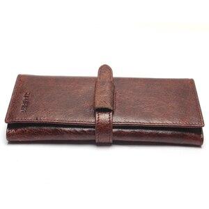 Image 4 - แบรนด์หรูใหม่ 100% ของแท้หนังCowhideคุณภาพสูงผู้ชายยาวกระเป๋าสตางค์เหรียญกระเป๋าVintage DesignerชายCarteiraกระเป๋าสตางค์