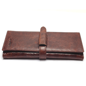 Image 4 - New Luxury Brand 100% Top Genuine Cowhide Leather High Quality Men Long Wallet Coin Purse Vintage Designer Male Carteira Wallets