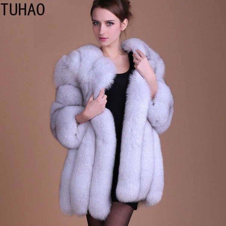 2018 Vestes noir Chaud pu Femme fuchsia Pour De La Grand Taille Manteau Fourrure Faxu Manteaux rose gris 3xl Hiver Plus 4xl Blanc Ciel Royal bleu Furry Faux Femmes 8TAfvqRv