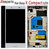 """100% testowane 4.6 """"dla Sony Xperia X Compact F5321 wyświetlacz LCD montaż digitizera ekranu dotykowego zamiennik dla Sony X Mini LCD"""