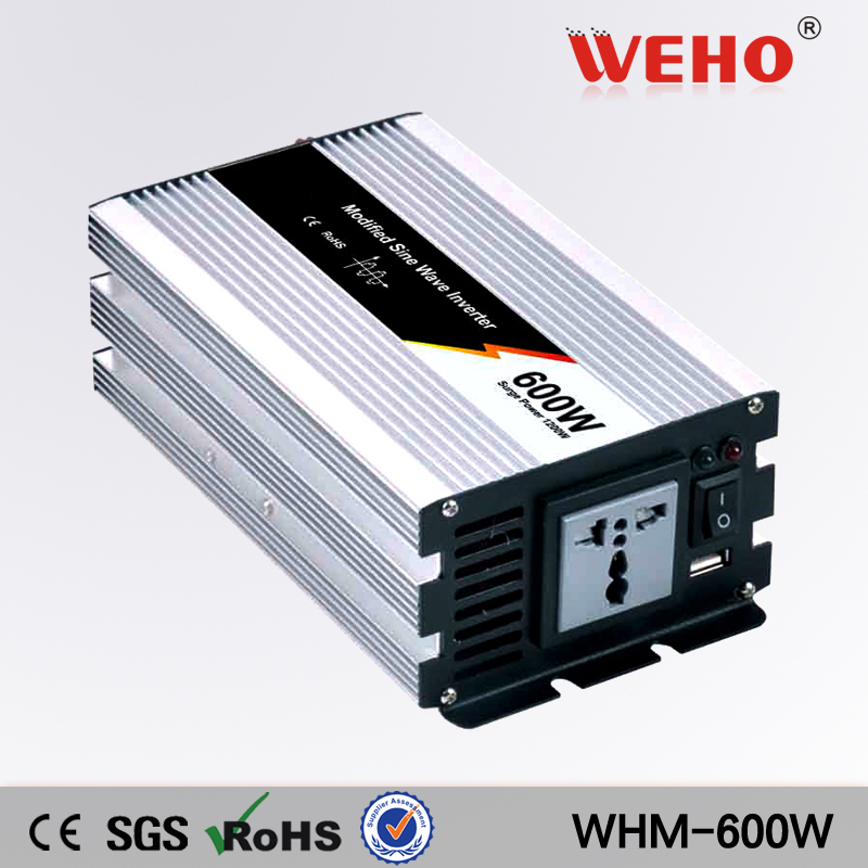 (WHM-600-122) 600 <font><b>watt</b></font> Modifizierte Sinuswelle Auto Boot 12 V DC zu 210 V 220 V 230 V 240 V AC Power <font><b>Inverter</b></font> Out image
