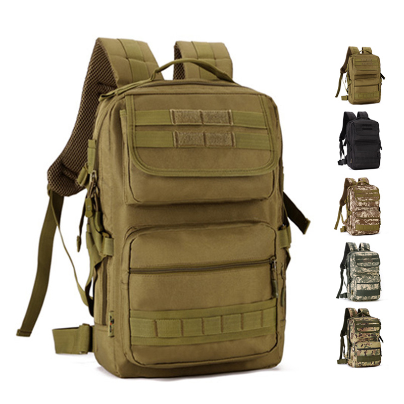 25L Military Tactical Backpack Male Multifunction Outdoor Army Camping Hiking Hunting  Rucksack Backpack Tourist Sport Molle Bag