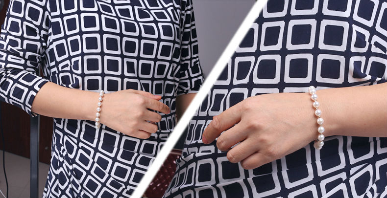 Akoya Pearl Bracelet detail 6