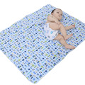 Almofada Impermeável Grande Mudança do bebê Pad Urina Do Bebê Do Algodão do bebê Mat Mudança Do Bebê Lençóis de Cama À Prova D' Água de Mesa WMC1607