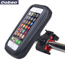 Universal Waterproof phone hang bag Bicycle motorcycle mount waterproof cell phone package GPS navigation can touch screen