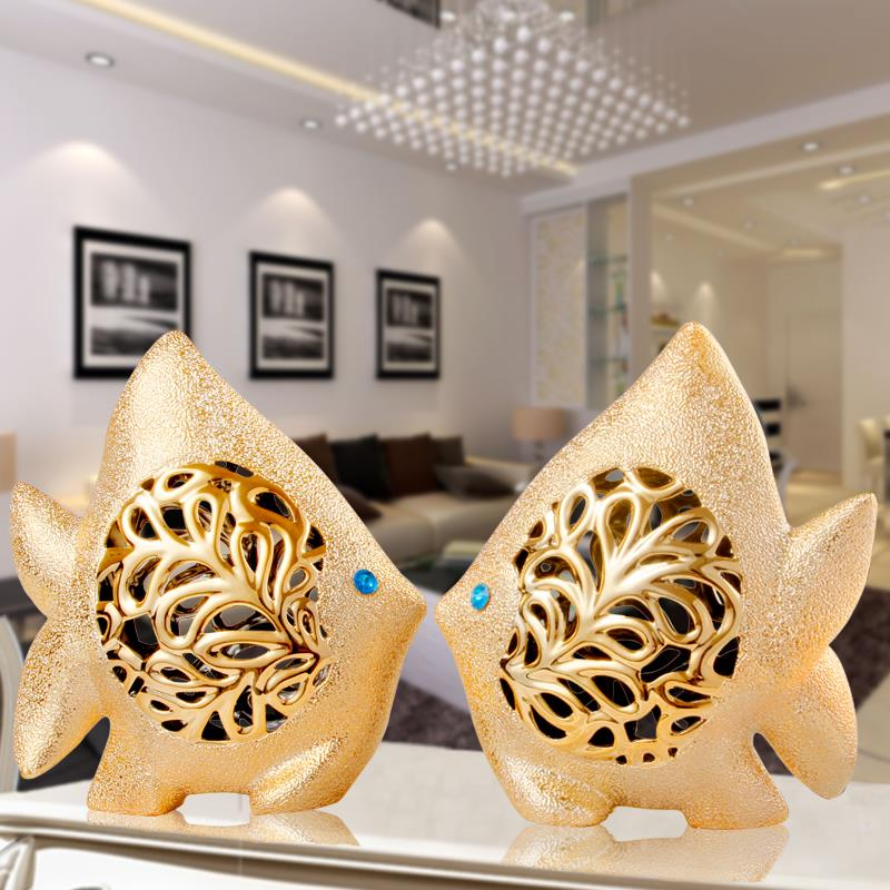 wedding gift lovers gifts modern ceramic decoration home decor living room  a couple of fish tropical. Home Decor Gifts  14 Expensive Looking Gifts That Started In A