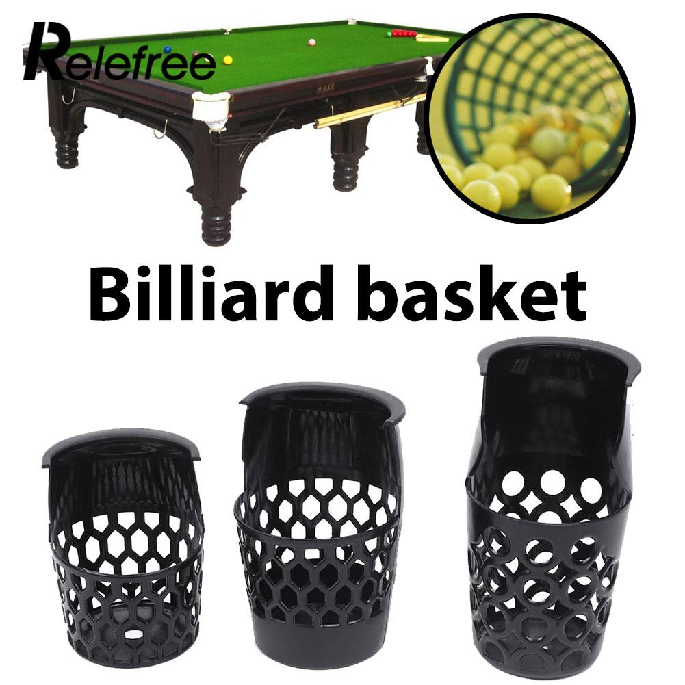 Plastic Web Billiards Ball Drop Pockets Snooker Pool Game Table Liners Accessory