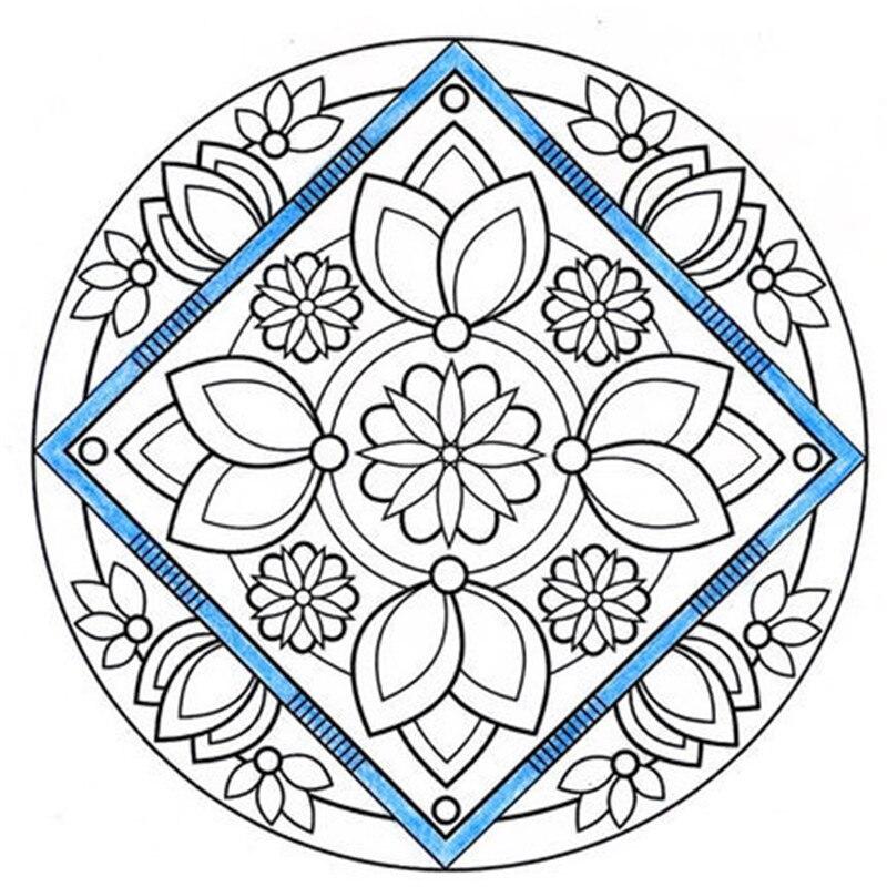 Lápiz Mandala loto libro para colorear para adultos aliviar el ...