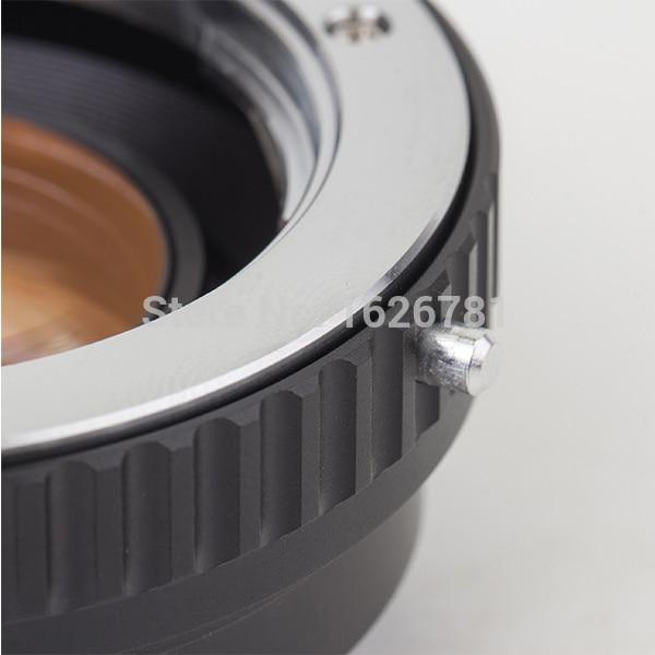 Speed Booster Adaptador de lente reductor focal para la lente - Cámara y foto - foto 2