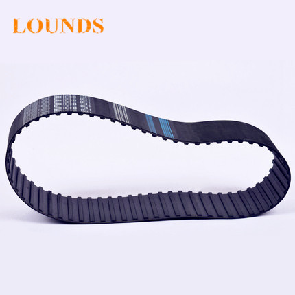 Free Shipping 500H100 teeth 100 Width 25.4mmmm=1 length 1270.00mm Pitch 12.7mm 500H 100 T Industrial timing belt 2pcs/lot
