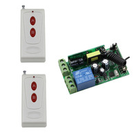 85V 110V 220V 250V 1CH 10A RF Multi Function Wide Voltage Learning Type Wireless Remote Control