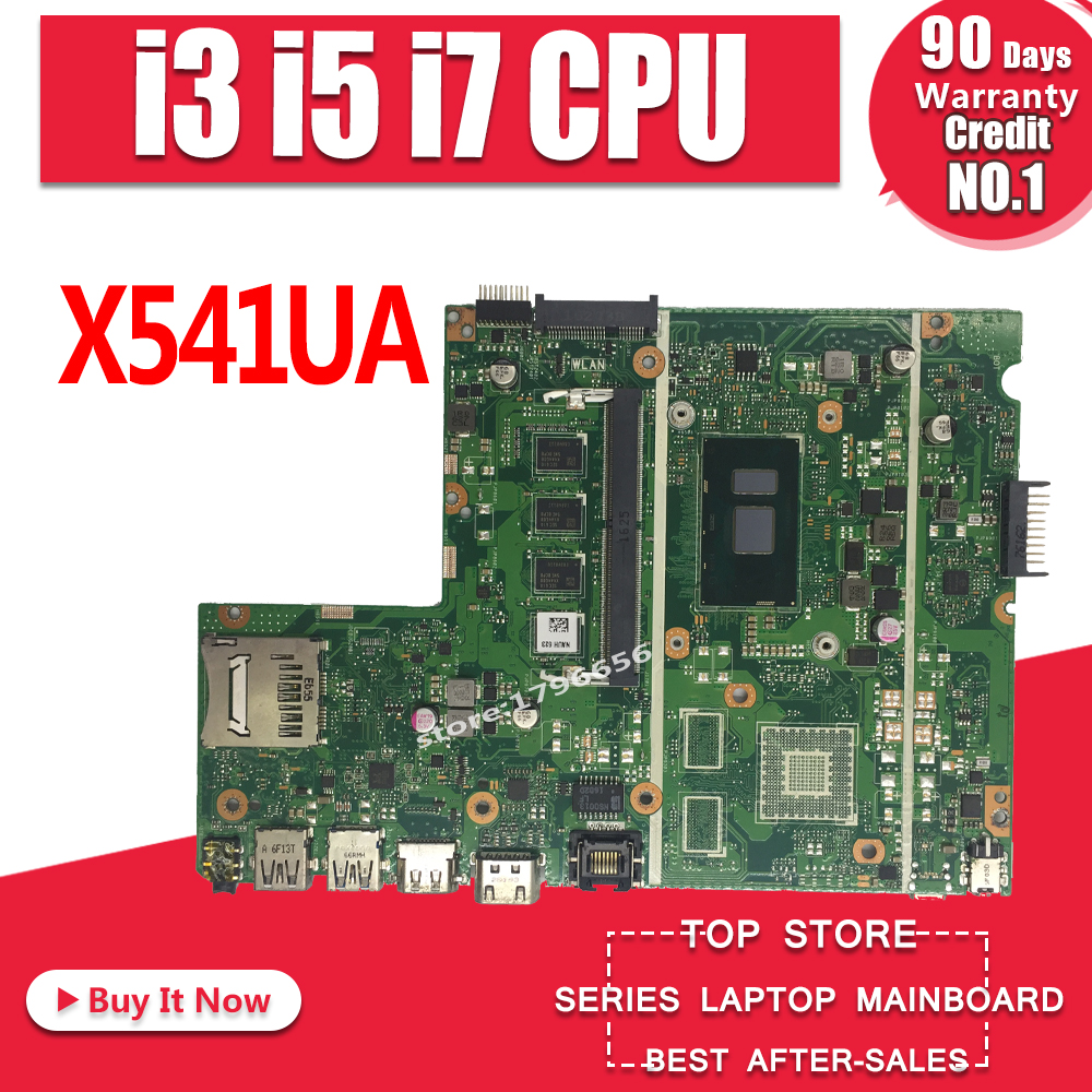 X541UA X541UAK Laptop motherboard REV2.0 For ASUS X541UVK X541UA X541UV Mainboard 100% Tested i3 i5 i7 CPU 8GBX541UA X541UAK Laptop motherboard REV2.0 For ASUS X541UVK X541UA X541UV Mainboard 100% Tested i3 i5 i7 CPU 8GB