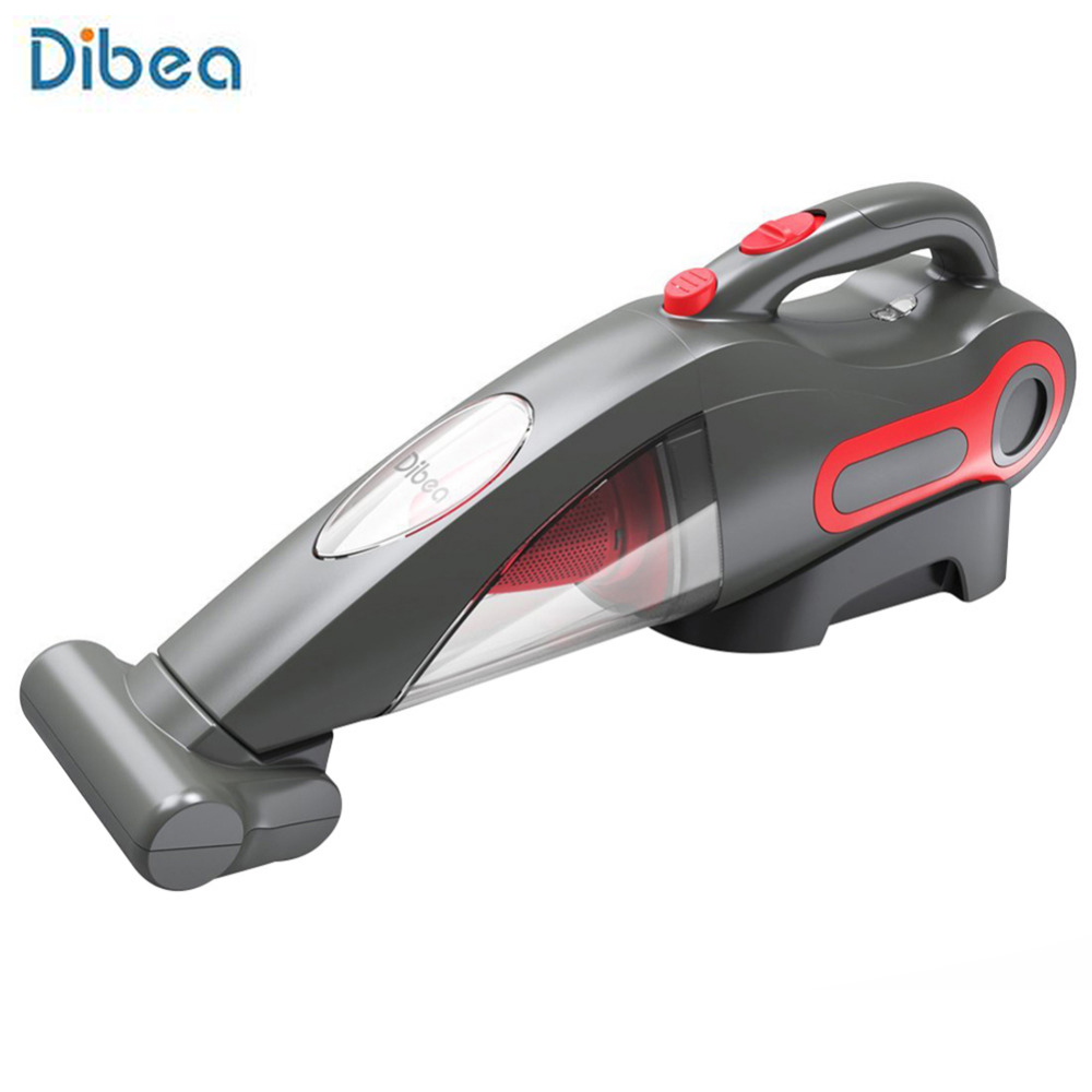 Dibea BX350 Handheld Vacuum Cleaner 5000PaPowerful Suction With Motorized Brush Head Cyclonic Filtration Cordless Dust Collector drill buddy cordless dust collector with laser level and bubble vial diy tool new